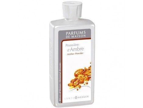 Perfume Poussière d'Ambre 500 ML-Lampe Berger