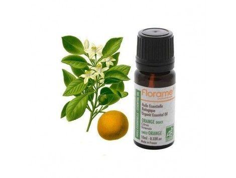 Aceite Esencial Naranja Dulce Cáscara BIO 30 ml -Florame