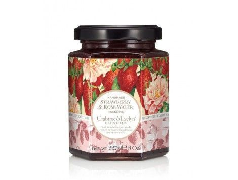 Strawberries & Rose Water Preserve de Crabtree & Evelyn