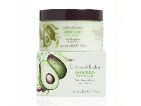 Body Butter - Avocado, Olive & Basil de Crabtree & Evelyn