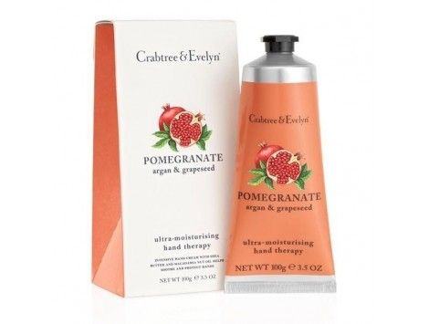 Hand Therapy Pomegranate, Argan & Grapeseed 100g Crabtree & Evelyn