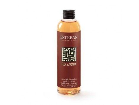 Recarga de perfume para Difusor de Aroma Teck & Tonka Esteban Paris