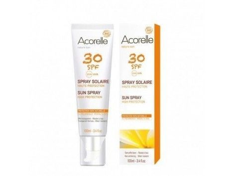 Protector solar BIO sfp 30 para pieles sensibles 100ml- Acorelle