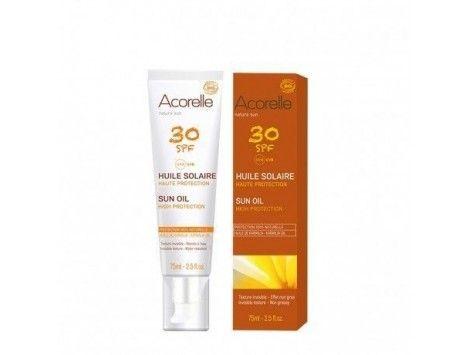Aceite solar spf 30 BIO alta protección 75ml- Acorelle