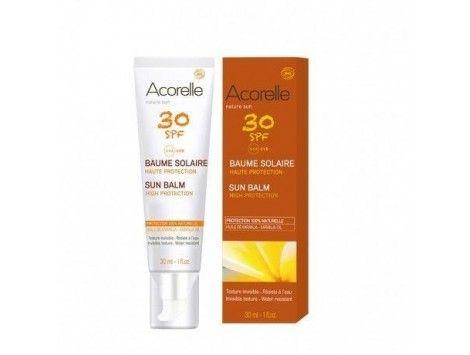 Bálsamo solar facial 30ml spf 30 BIO- Acorelle