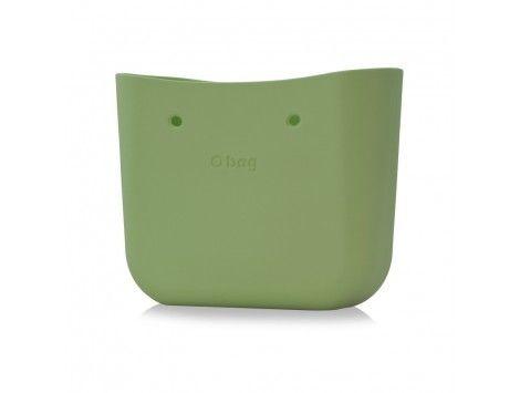 O Bag Bolso Base Classic Verde Salvia