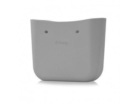 O Bag Bolso Base Classic Gris plata 004