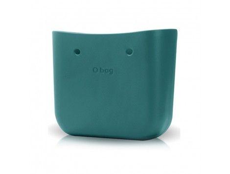 O Bag Bolso Base Classic Verde Azulado 063