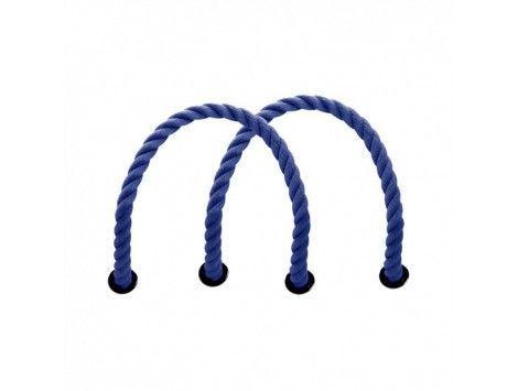Asas O bag cortas cuerda azul marino 017
