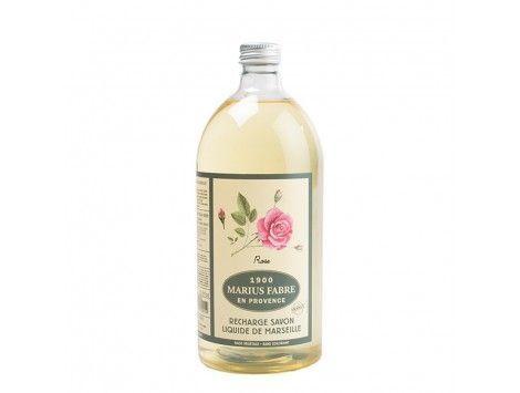 Jabón Líquido de Marsella Rosa 1l