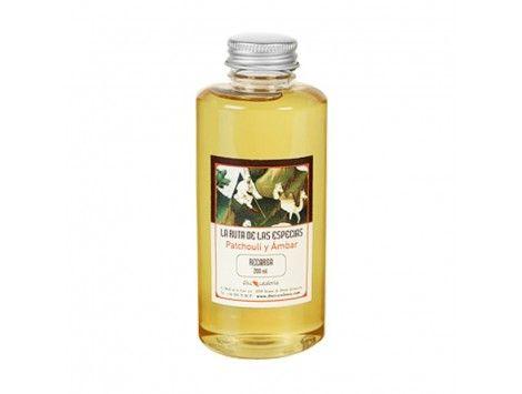 Recarga de Perfume para ambientador 200 ml . Patchouli y Ámbar D'occ Catalonia