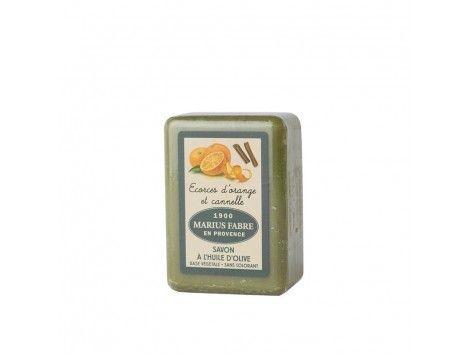 Pastilla Jabón de Marsella Marius Fabre Naranja Canela 250gr