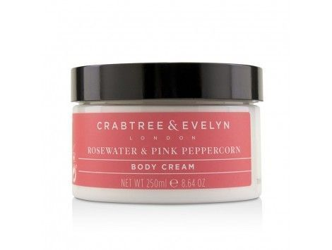 Body Cream Rosewater & Pink Peppercorn de Crabtree & Evelyn