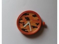 Esfera intercambiable para Reloj O Clock. Estampado tigre