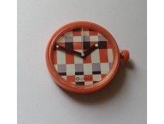 Esfera intercambiable para Reloj O Clock. Estampado Cuadros