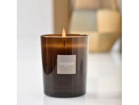 Vela perfumada Rêve Blanc Esteban Paris. Sin Caja