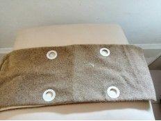 Borde lana O bag classic tejido color verde seco