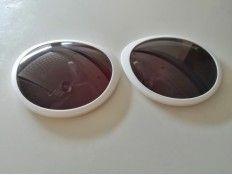 Lentes Gafas de Sol Obag Lisas Blancas