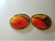 Lentes Gafas de Sol O bag Estampadas Verde Rojo Amarillo