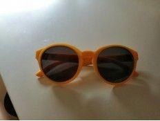 Gafas de Sol O bag Lisas amarillas