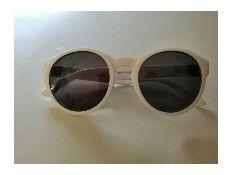 Gafas de Sol O bag Lisas blancas