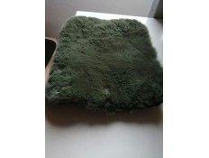 Solapa O Bag O pocket Pelo verde Oscuro