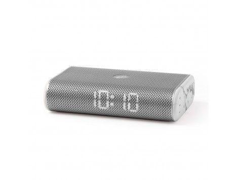 Radio Despertador MIAMI Lexon Metal/Marmol