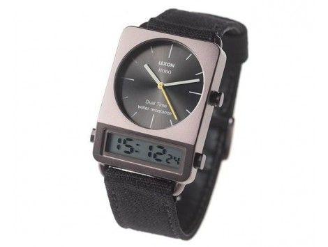 Reloj Lexon Hobo Negro