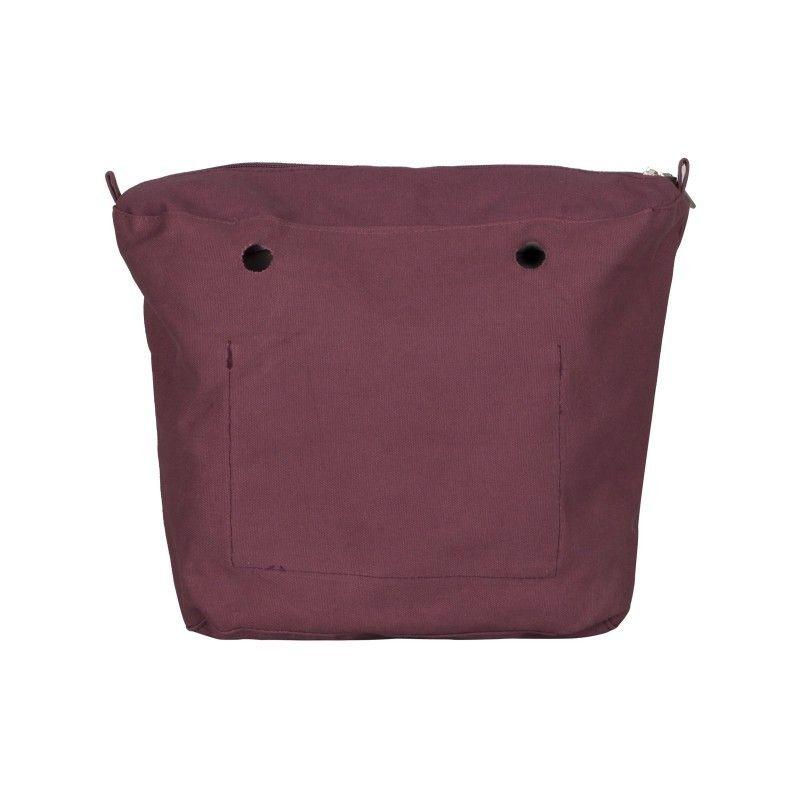 Canvas Burdeos para Bolso O Bag (018)