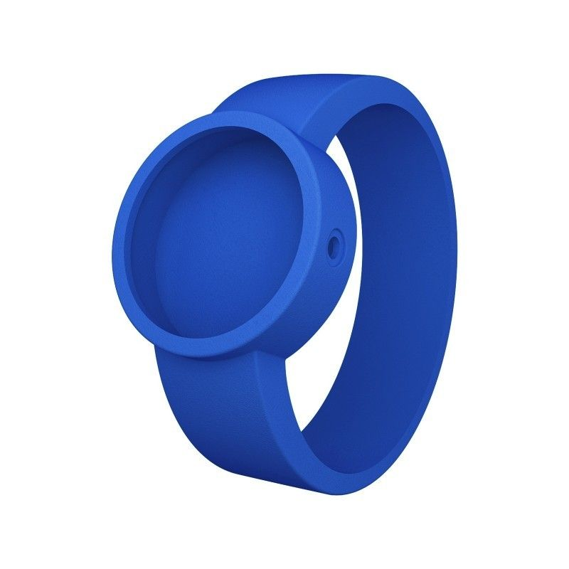 reloj O clock correa azul electrico (014)