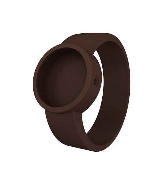 reloj O clock correa chocolate (024)