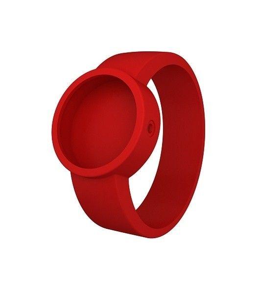 reloj O clock correa rojo (076)