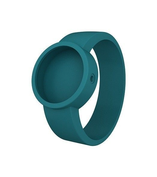 reloj O clock correa verde azulado agua (012)